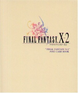 Final Fantasy X-2 Postcard Book