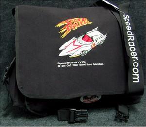 Speed Racer Courier Bag (Black)