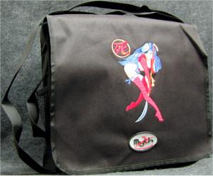 Shi Manga Logo Courier Bag