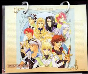 Angelique 2003 Calendar #89182