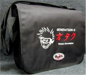 Generation O - Otaku Revolution Courier Bag (Black)