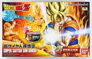 Dragon Ball Z Model Kit: Super Saiyan Son Goku