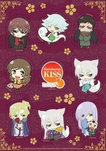 Kamisama Kiss Sticker Sheet - SD Group