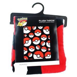 Pokemon Throw Blanket - Pokeball