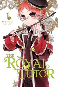 The Royal Tutor Graphic Novel 01