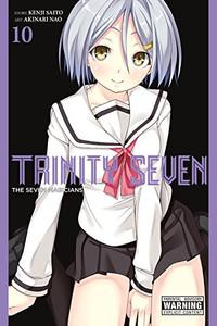 Trinity Seven Graphic Novel 10