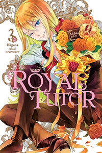 The Royal Tutor Graphic Novel 03