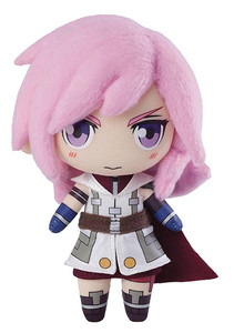 Final Fantasy Mini Plush Doll - Lightning (FF XIII)