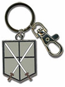 Attack on Titan Metal Keychain - 104th Cadet Corps