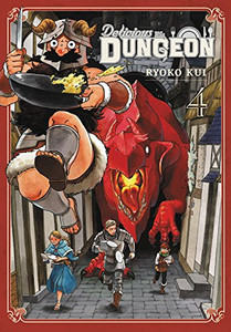 Delicious in Dungeon Manga 04