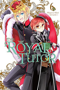 The Royal Tutor Graphic Novel 06
