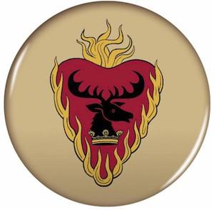 Game of Thrones Button Pin - Stannis-Baratheon