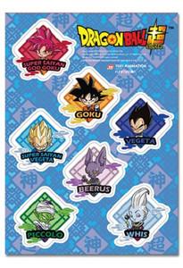 Dragon Ball Super Sticker Sheet - SD Diamond
