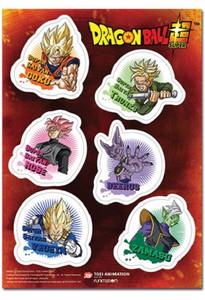 Dragon Ball Super Sticker Sheet - Future Trunk Saga