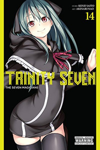 Trinity Seven Graphic Novel 14