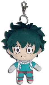 "My Hero Academia Plush Keychain - Izuku Midoriya 5"""