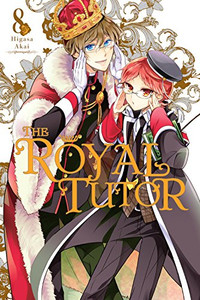 The Royal Tutor Graphic Novel 08