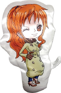 One Piece Plush Pillow - SD Nami