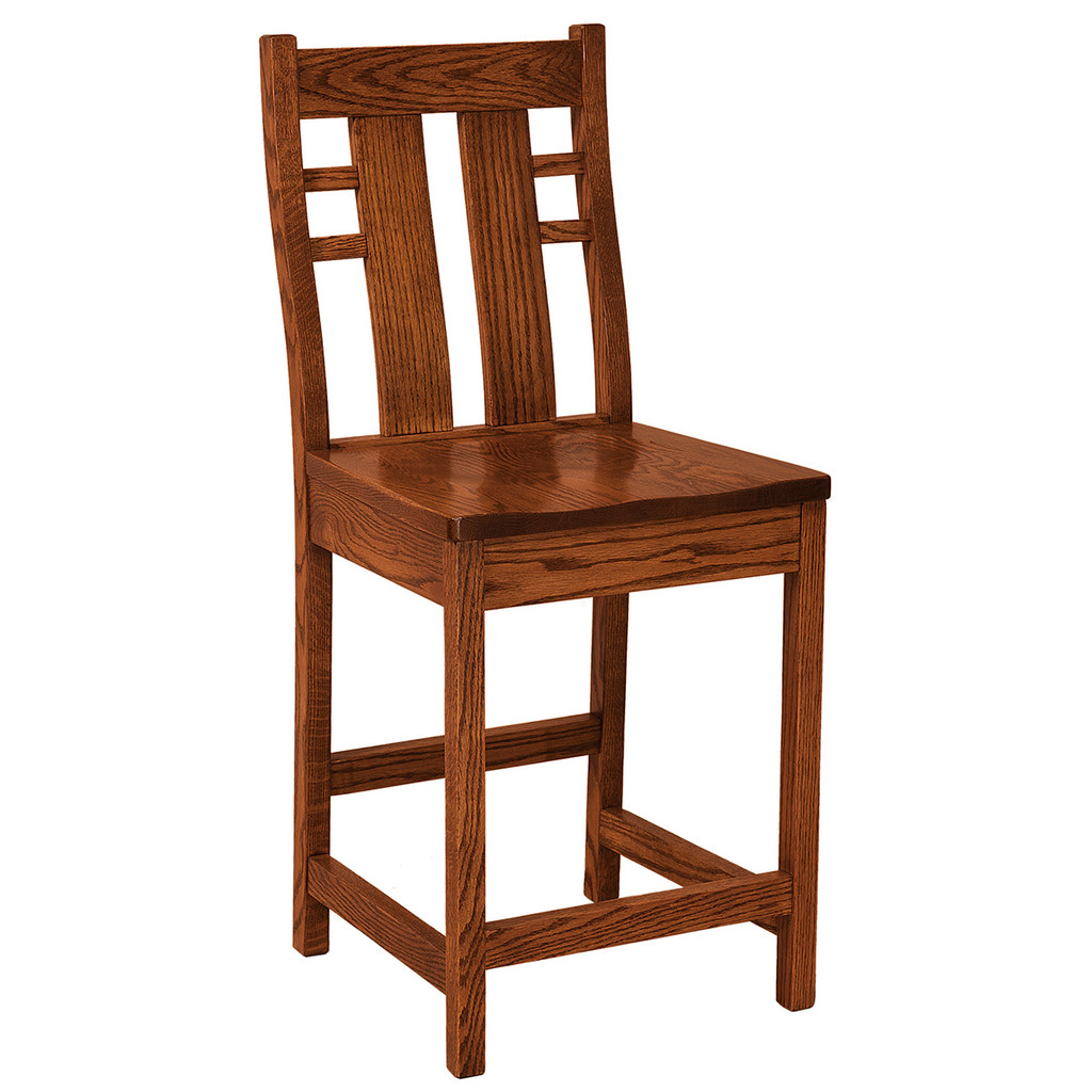 Cascade Stationary Bar Stool