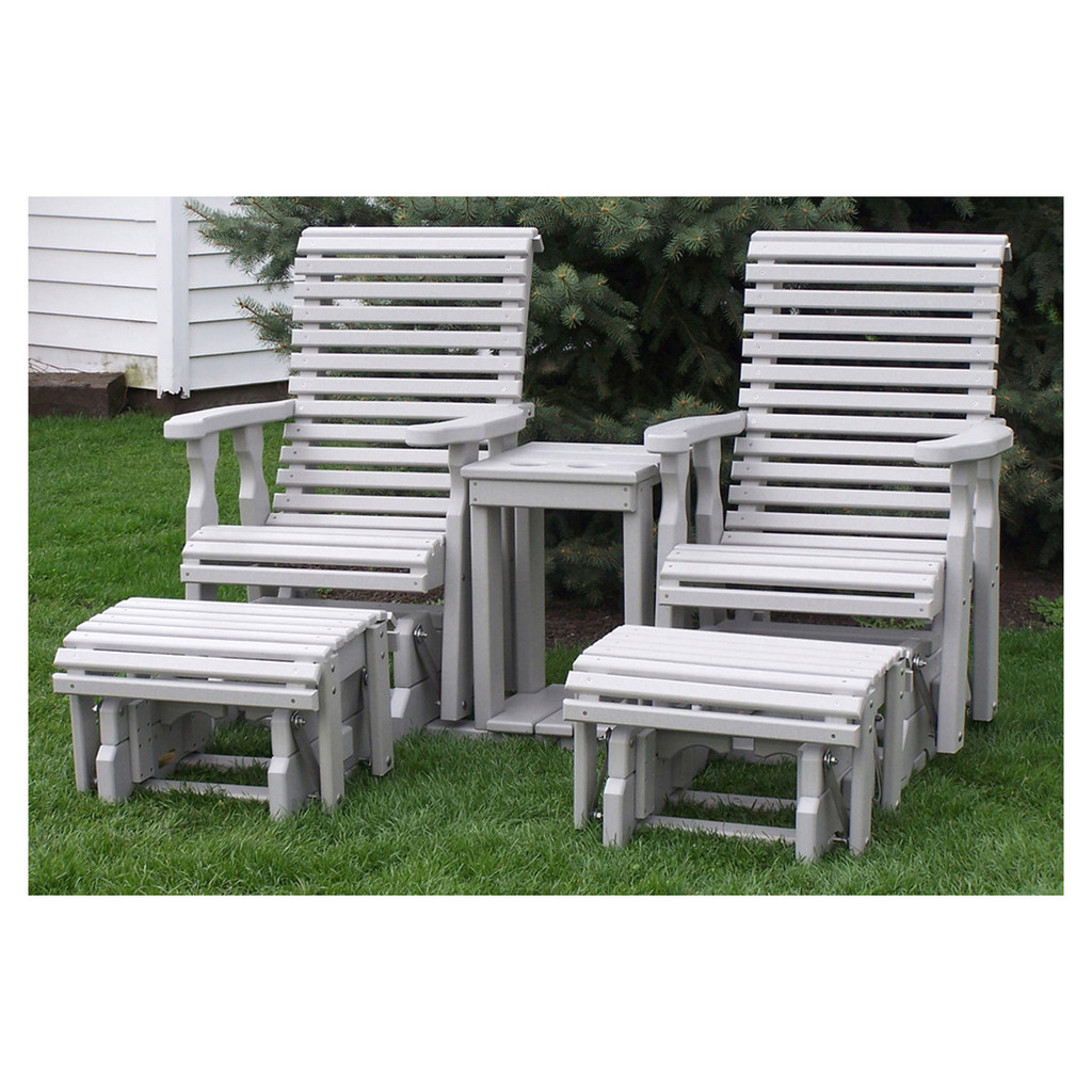 Outdoor Rollback Glider Settee