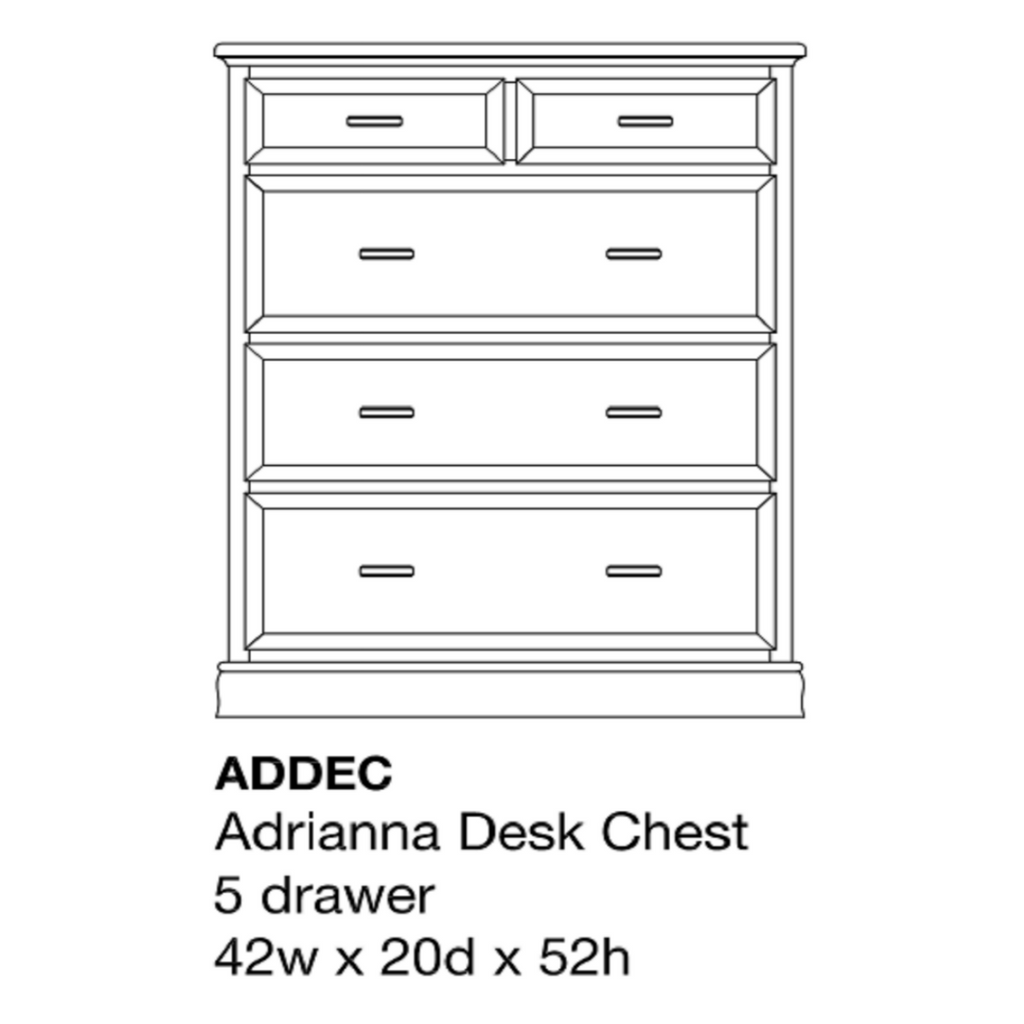Adrianna Desk Chest