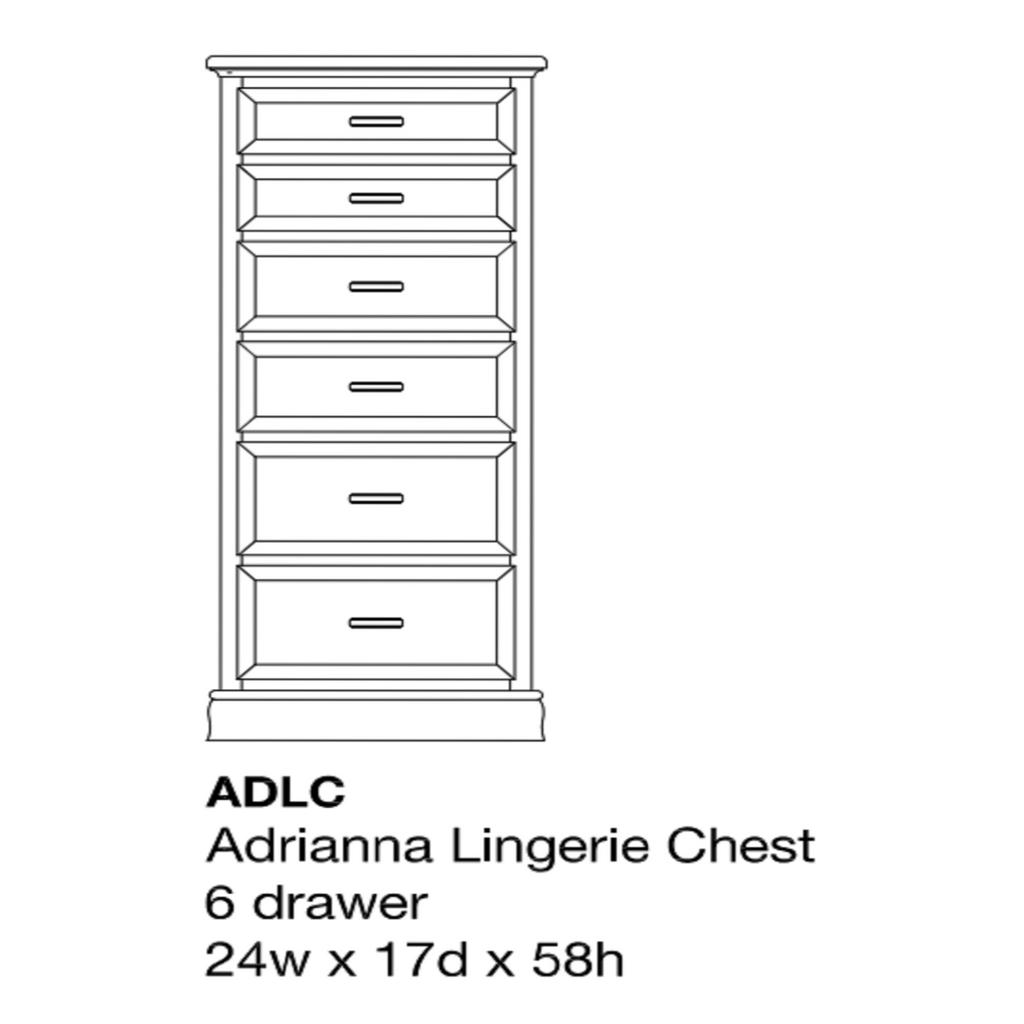 Adrianna Lingerie Chest