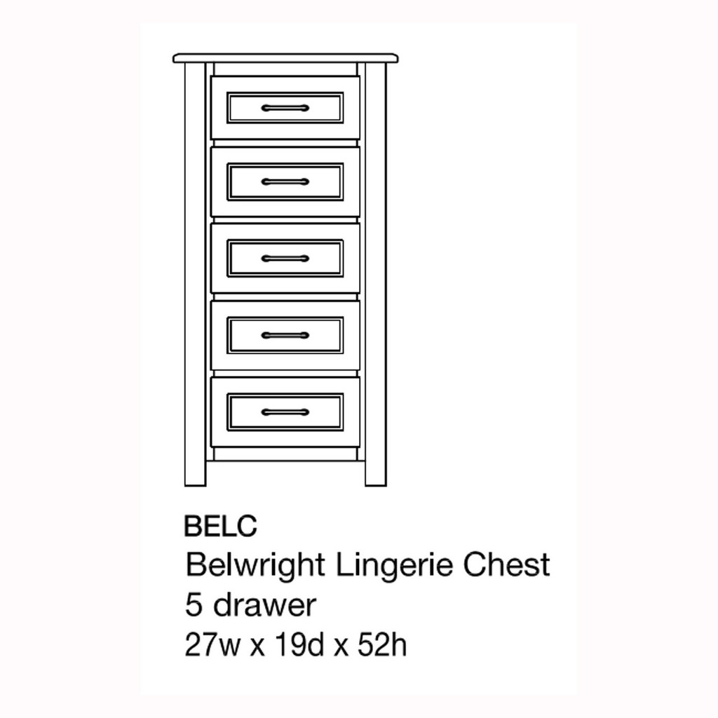 Belwright Lingerie Chest
