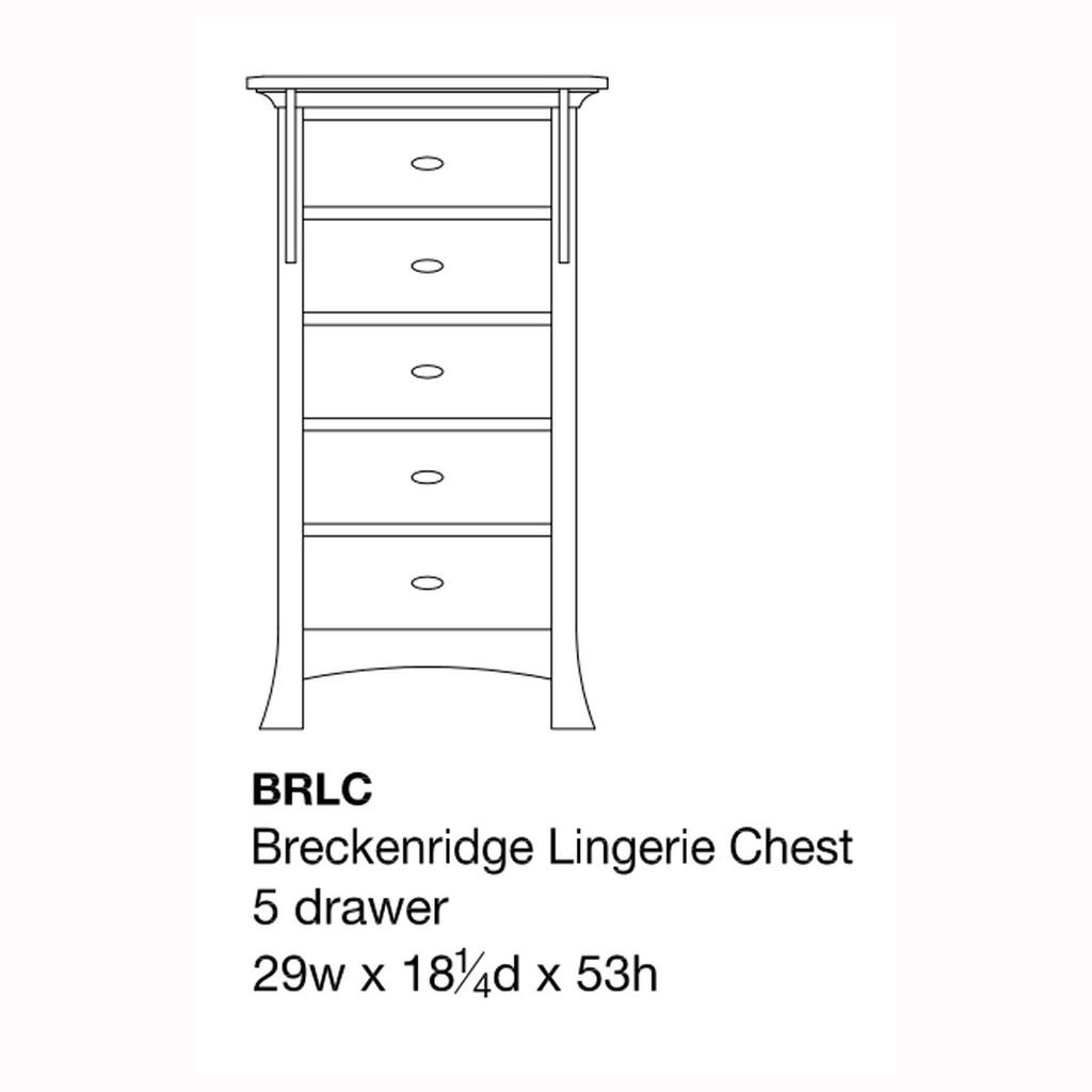 Breckenridge Lingerie Chest