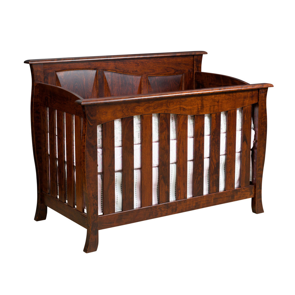 Cayman Crib 3-in-1 (Slat Front)