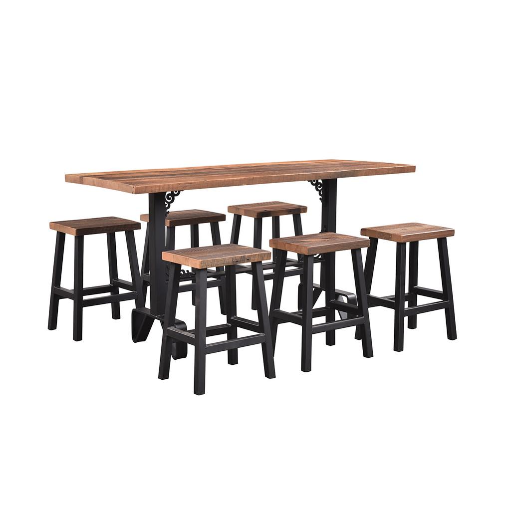Charlotte Bar Table (Barn Wood)