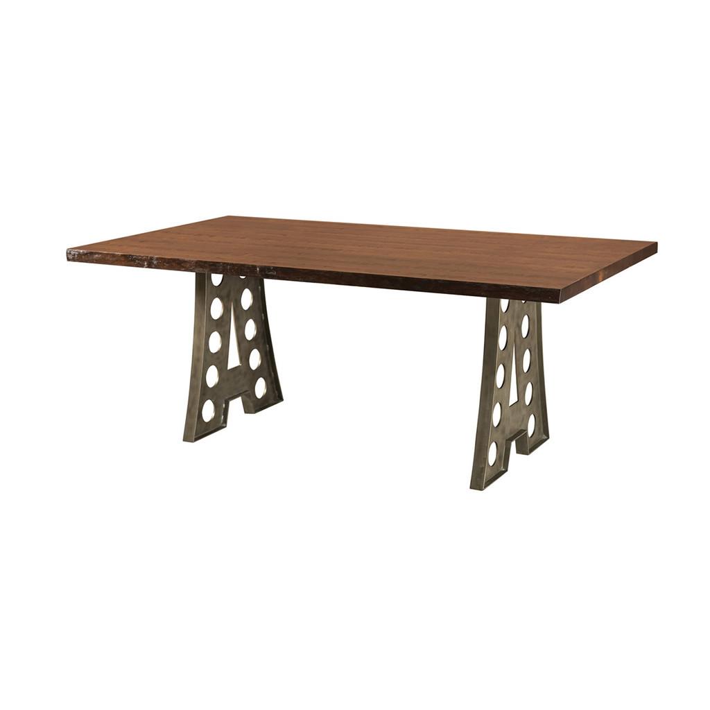 Alpha Industrial Table (Live Edge)