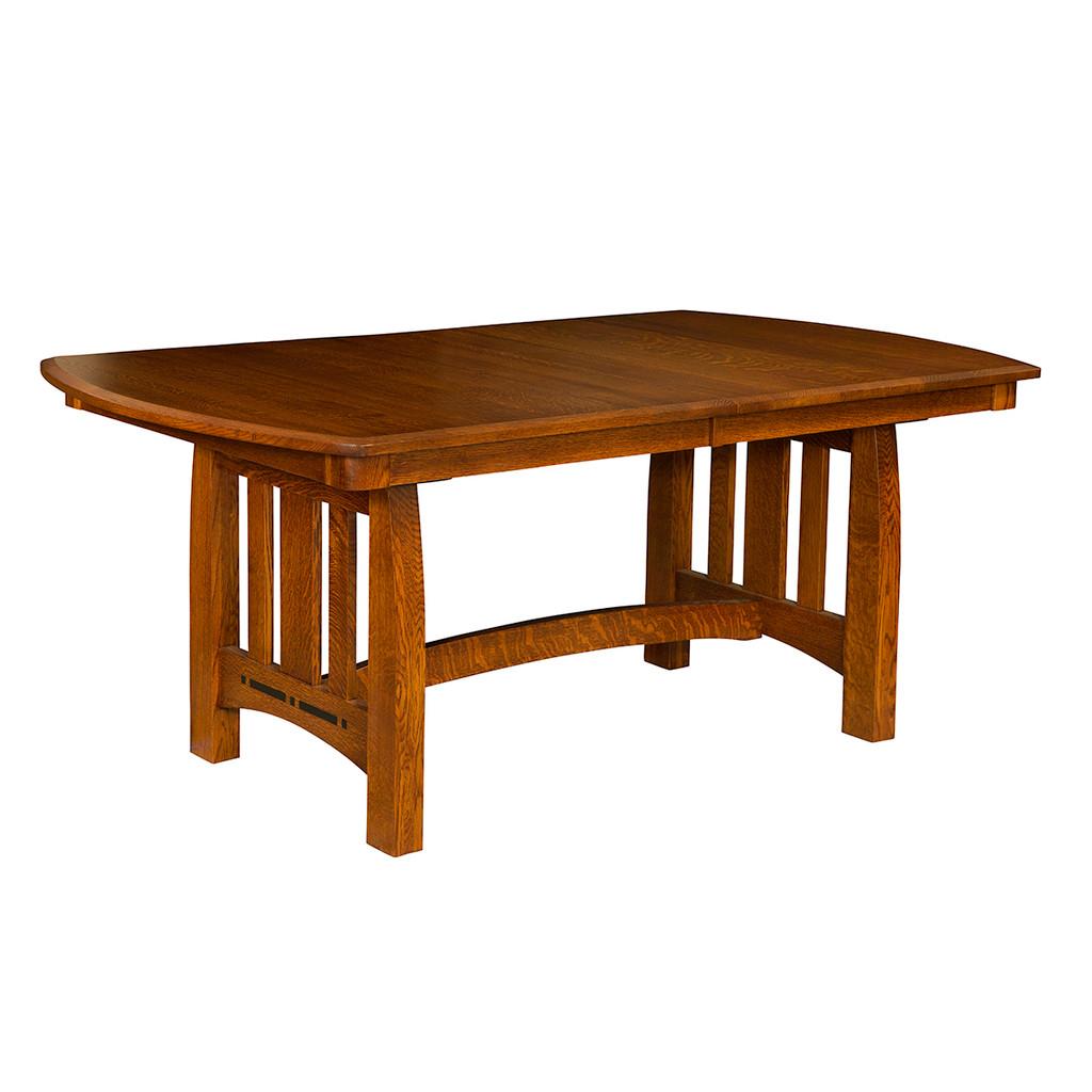 Boulder Creek Trestle Table