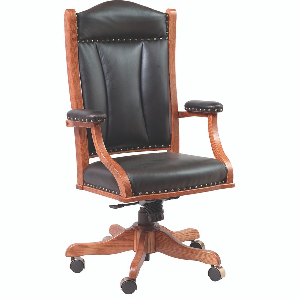 Arm Desk Chair (Gas Lift)