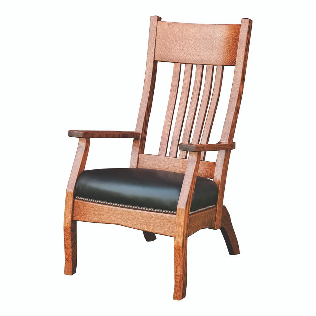 Captain Mission Lounge Chair