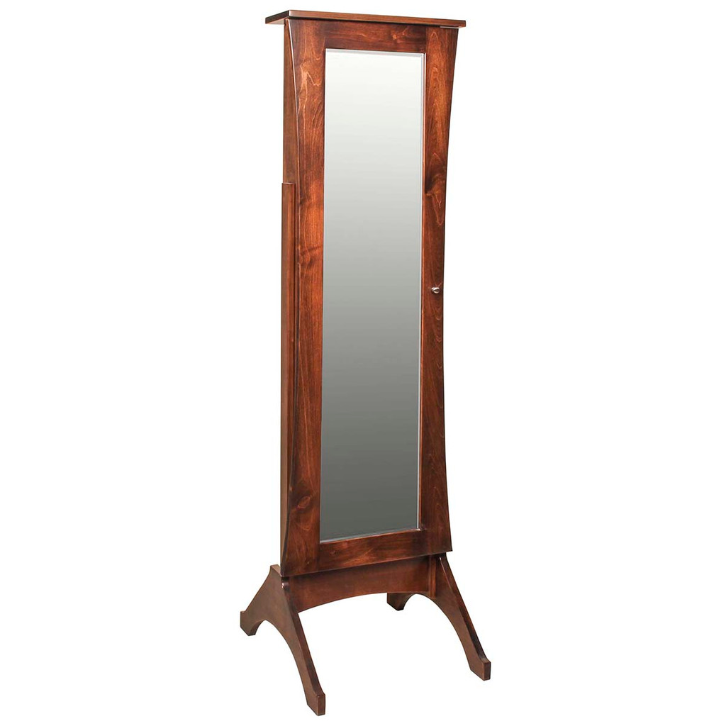 Caledonia Jewelry Mirror (with Sliding Door)