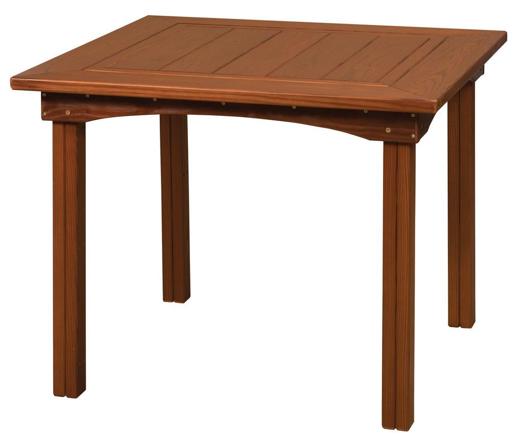 Cedar Square Dining Table