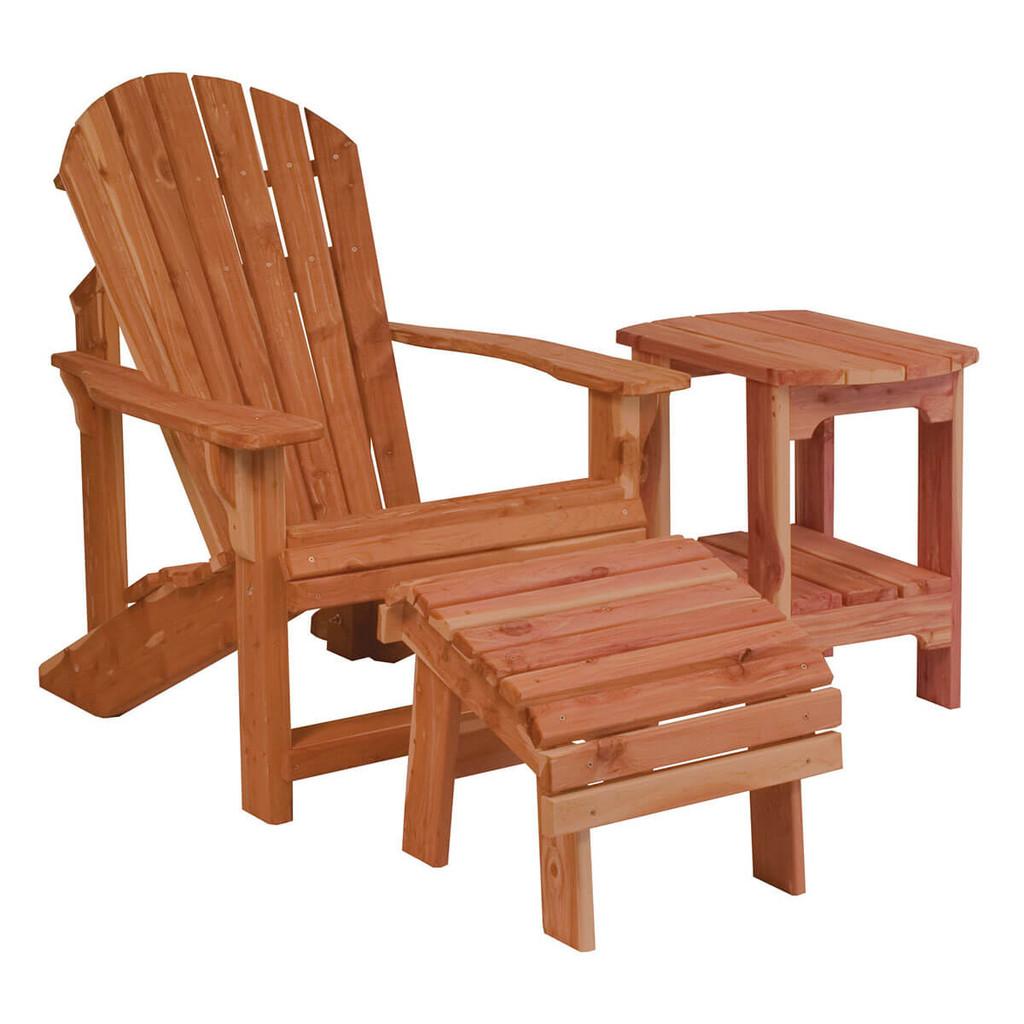 Classic Cedar Adirondack Chair