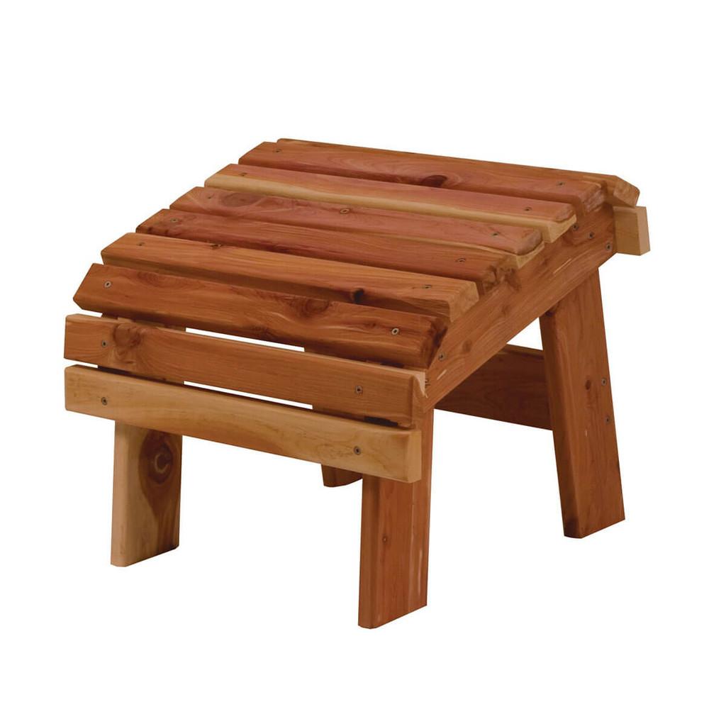 Cedar Adirondack Loveseat Bench
