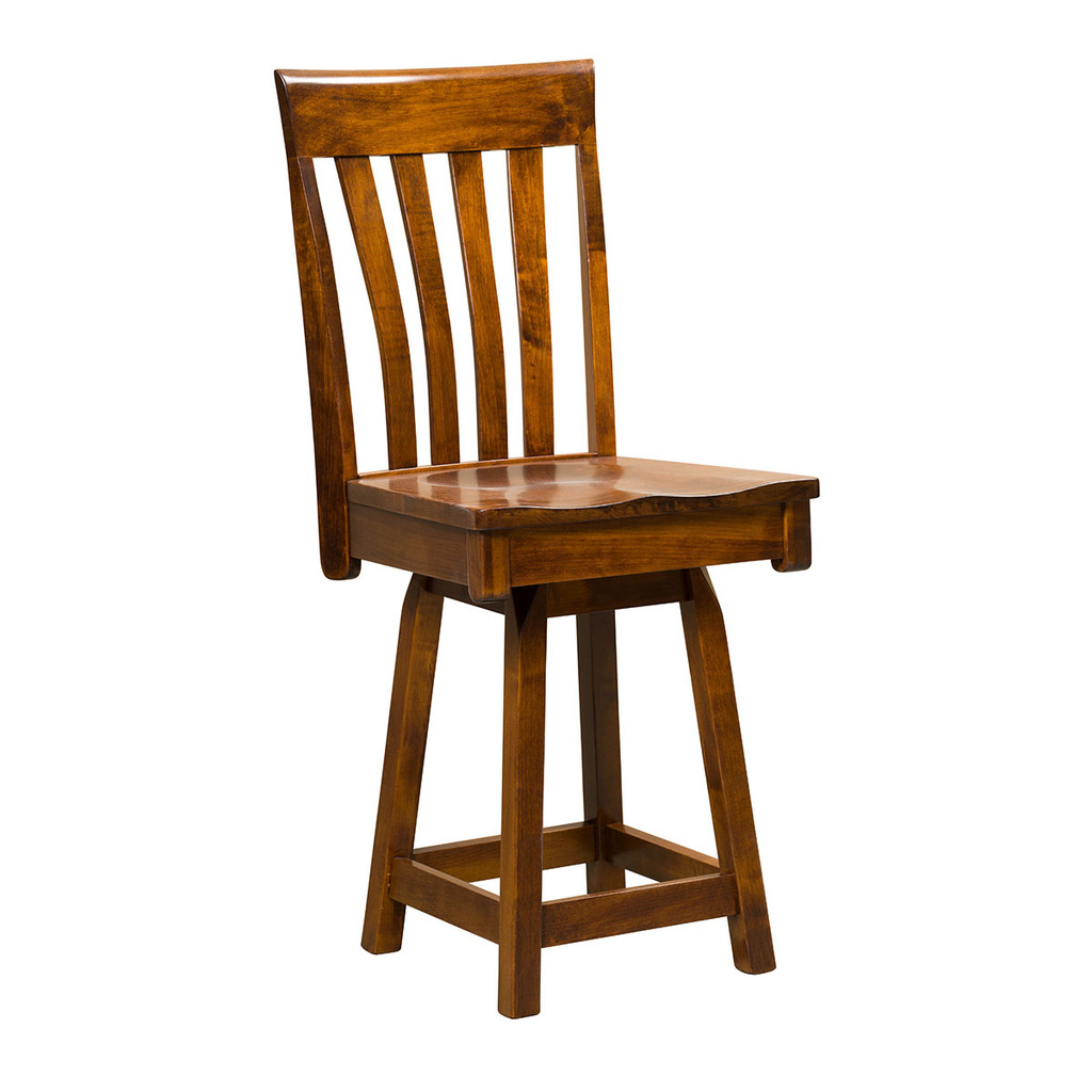 Canterbury Swivel Bar Stool