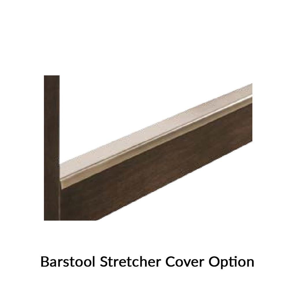 Barrel Swivel Bar Stool (Meribeth Top)