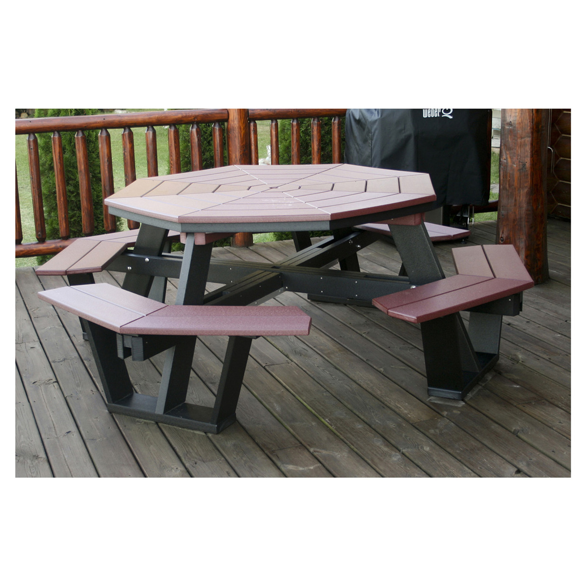 Charmant Octagon Picnic Table