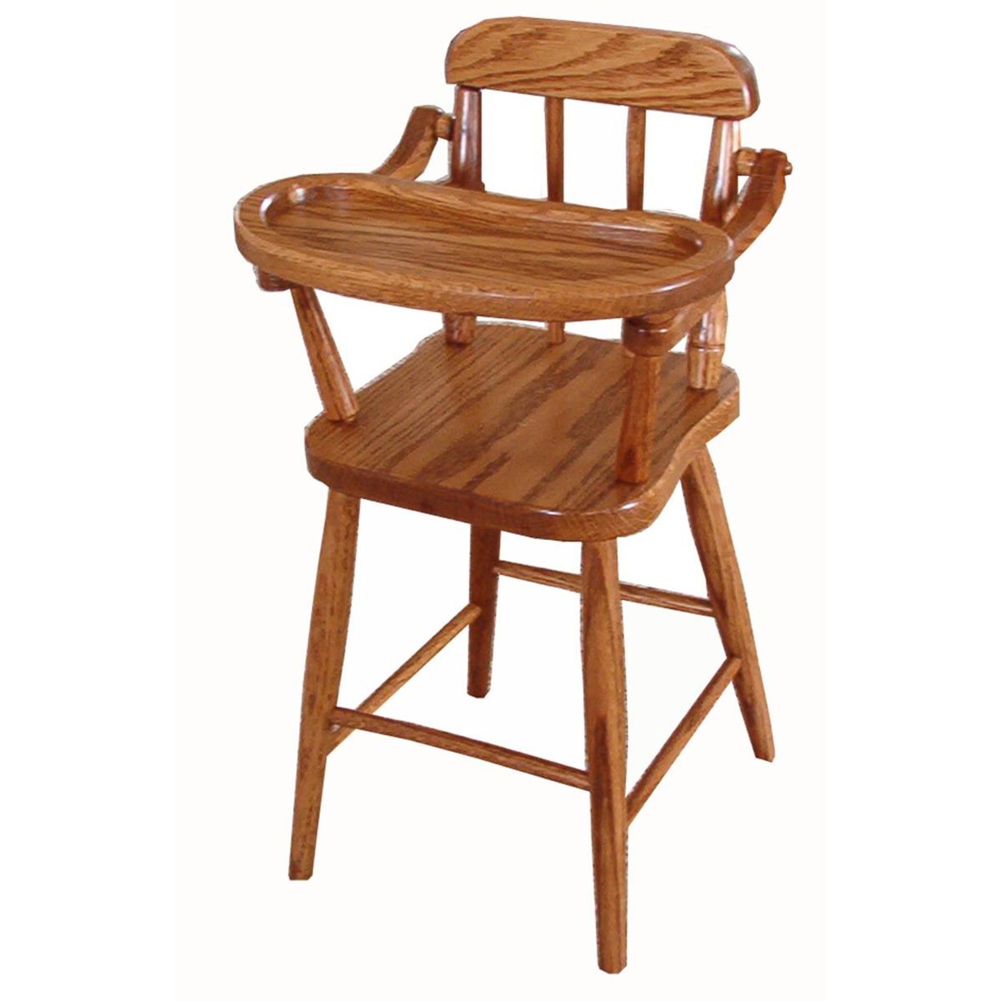 Merveilleux Doll High Chair (Spindles)