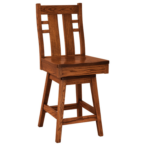 Cascade Swivel Bar Stool