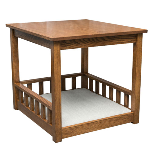 "Sheltie Pet End Table with Pad 23.75"" x 26.25"" x 24"""