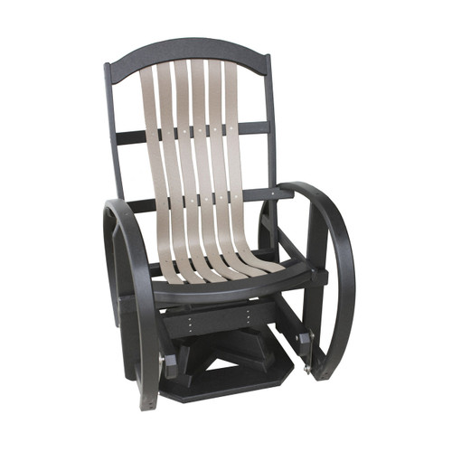 Cottage Poly Bent Swivel Glider