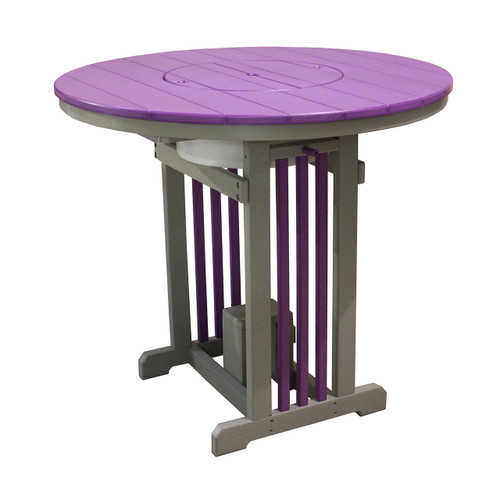 Mission Pub Table (with Party Bowl)