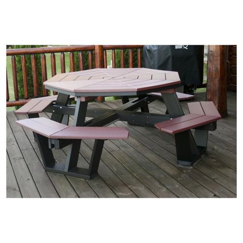 Beau Octagon Picnic Table
