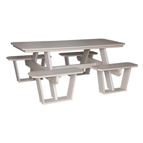 Split Bench Picnic Table