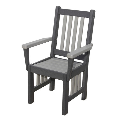 Outdoor Mission Arm Chair