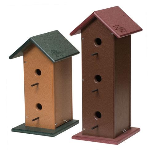 Trio Birdhouse